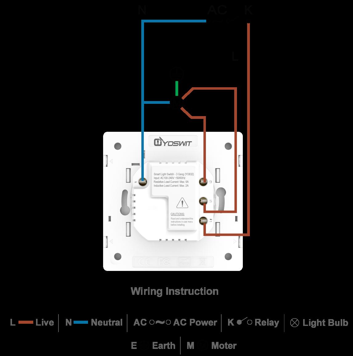 smart roller switch - socket 55 - smart home